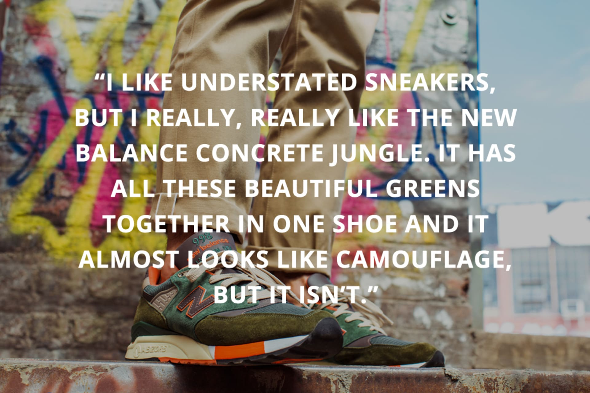 How J.Crew Got Sneakerheads to Care About Style Kompleks  Complex