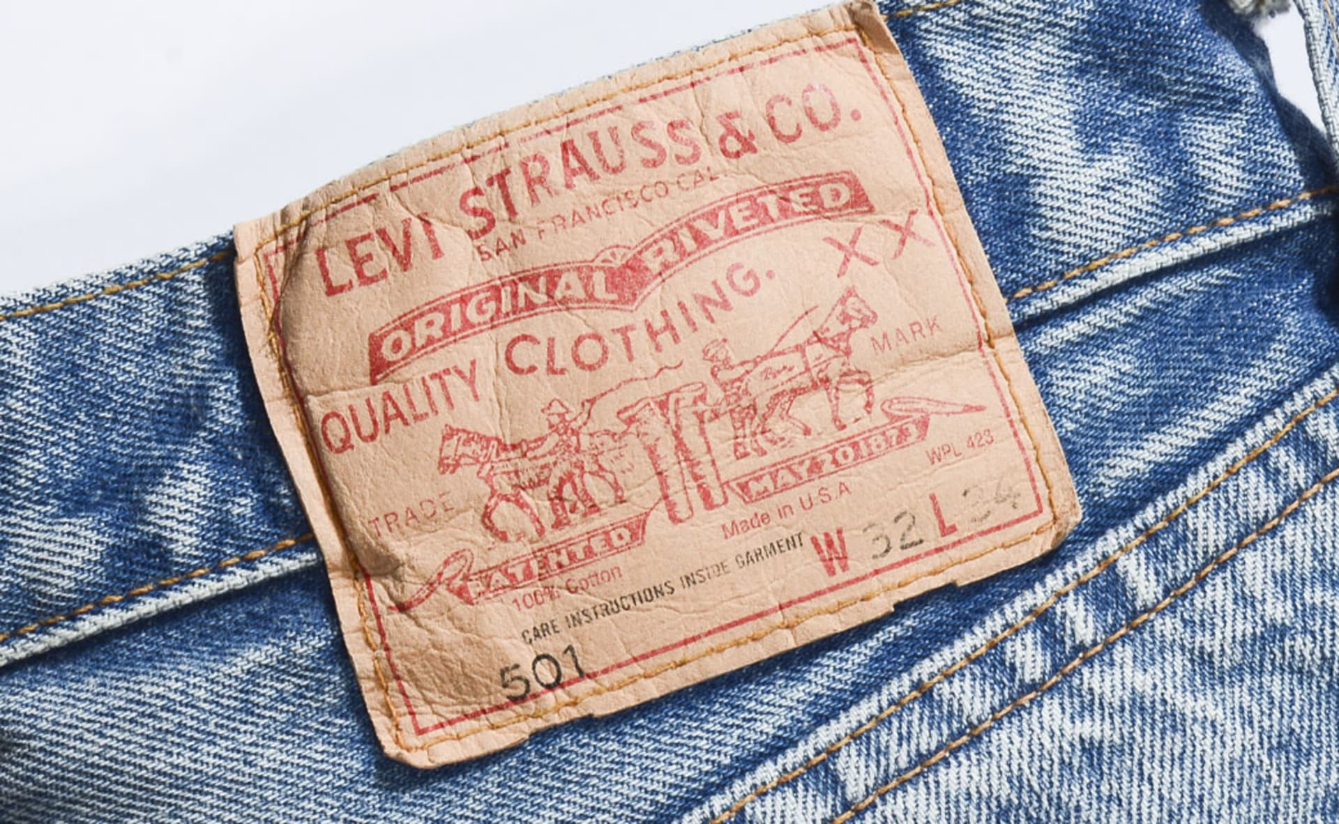 53674e8a How Levi's Built the Most Authentic Clothing Brand in the World ...