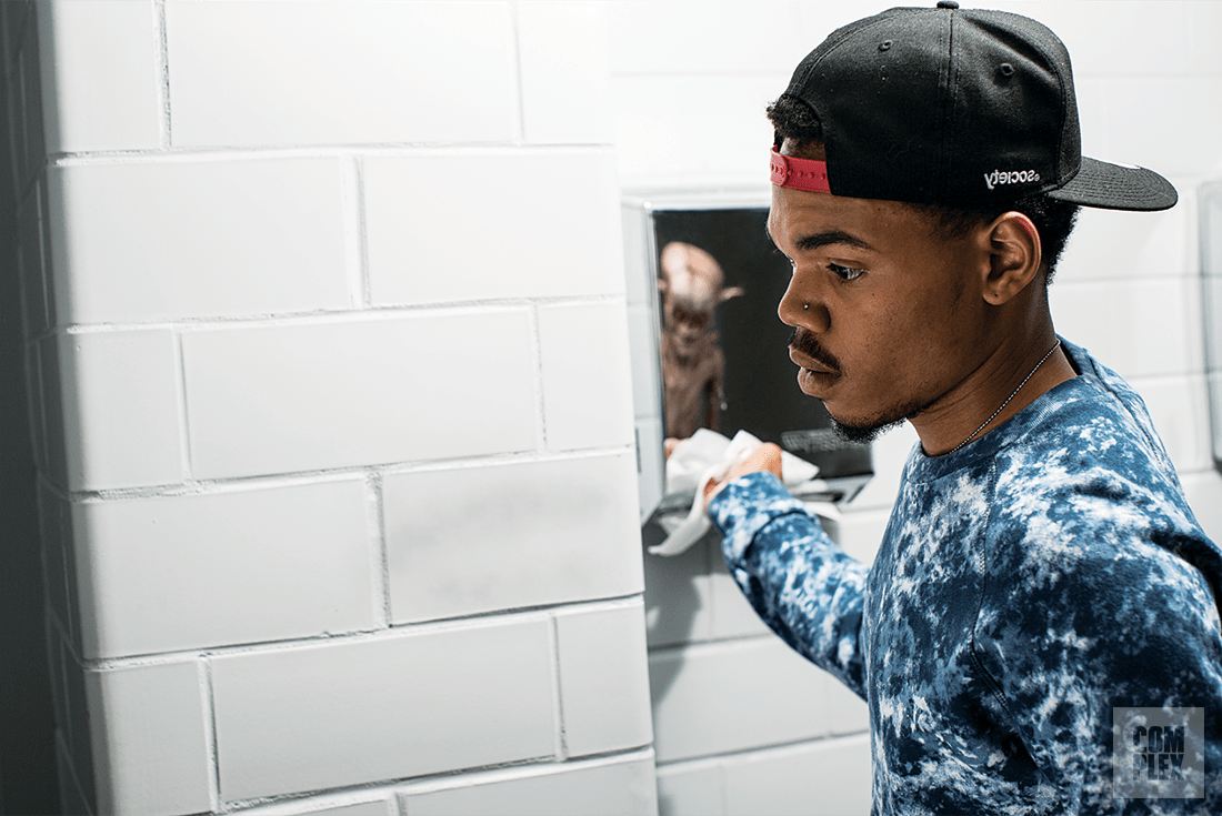 Image result for chance the rapper running