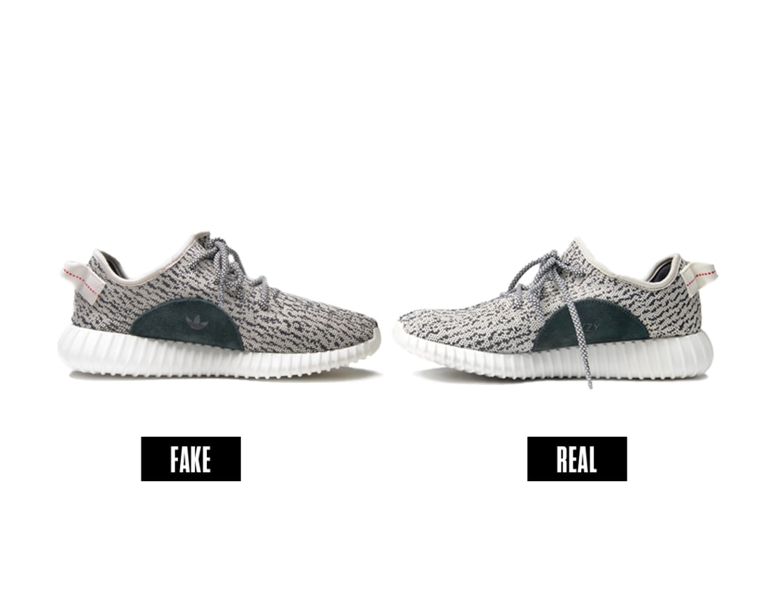 Fake Vs Real Yeezy 350 Boosts Photo By Liz Barclay