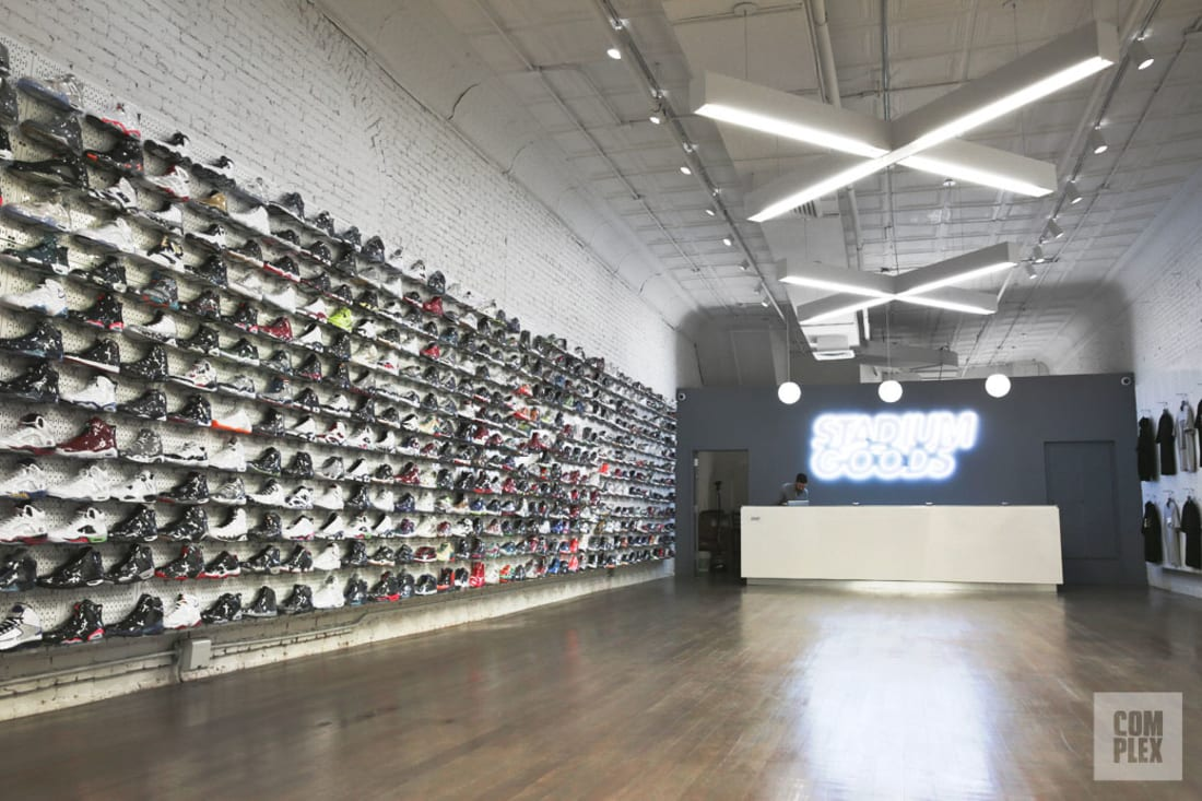 Stadium goods knocks the sneaker resale retail concept out for Best consignment stores nyc