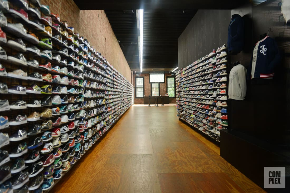 The 10 Best Sneaker Stores In Nyc Complex