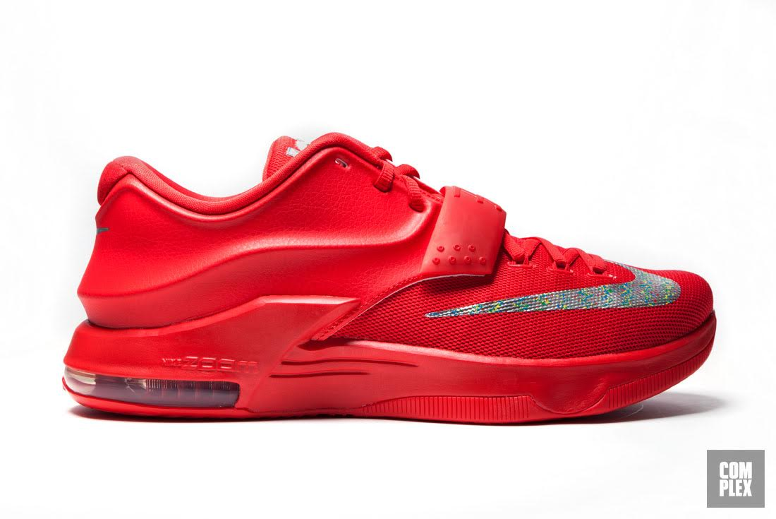 Kevin durant shoes low top red