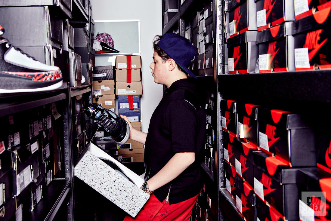 Meet The Plug Benjamin Kickz Teenage Sneaker Mogul