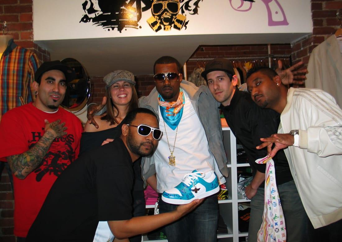 Kanye West Karmaloop Store