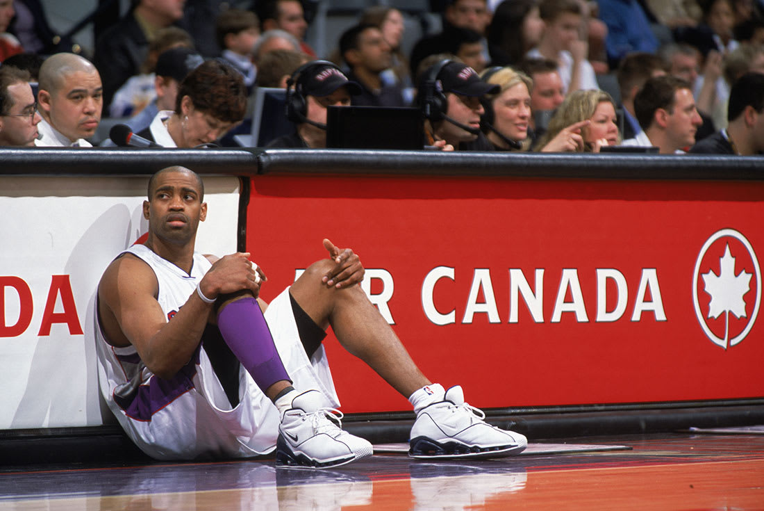 """""""When Tristan [Thompson] said I was their Michael Jordan...I didn't know how  to react when he said that to me."""" —Vince carter"""