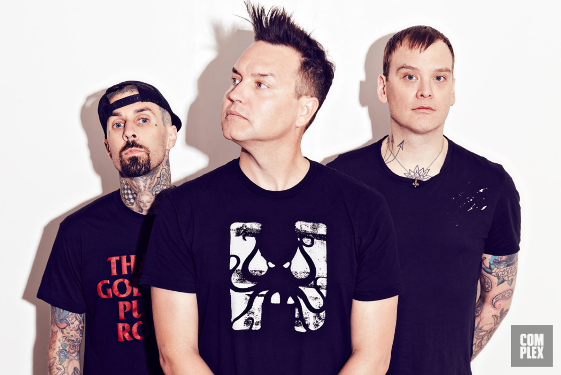 In 2016, it's awfully hard to get Blink-182 to undress.