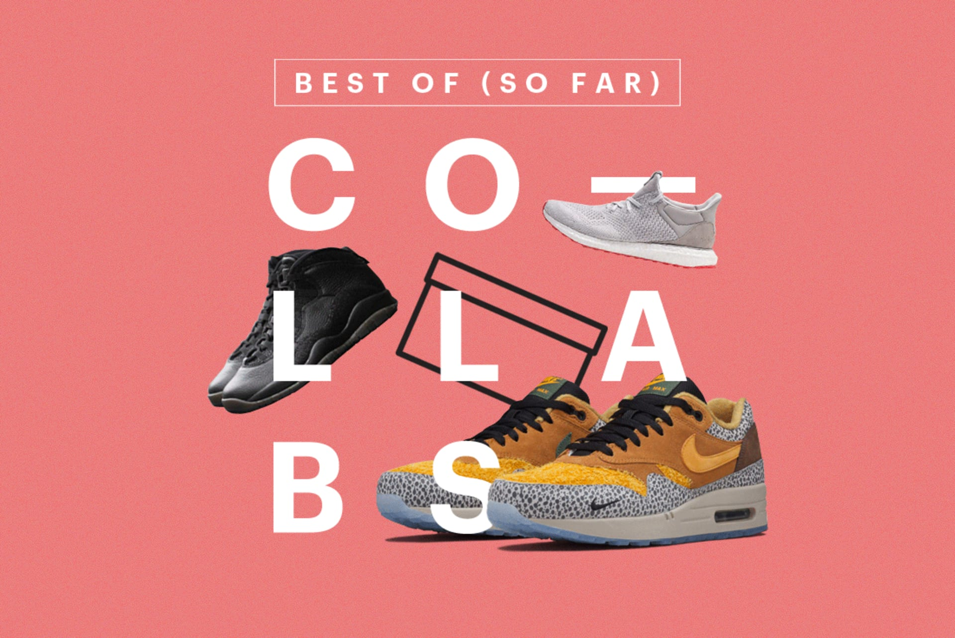 best service 814b5 e0e3c The Best Sneaker Collaborations of 2016 (So Far). From Solebox and adidas  ...