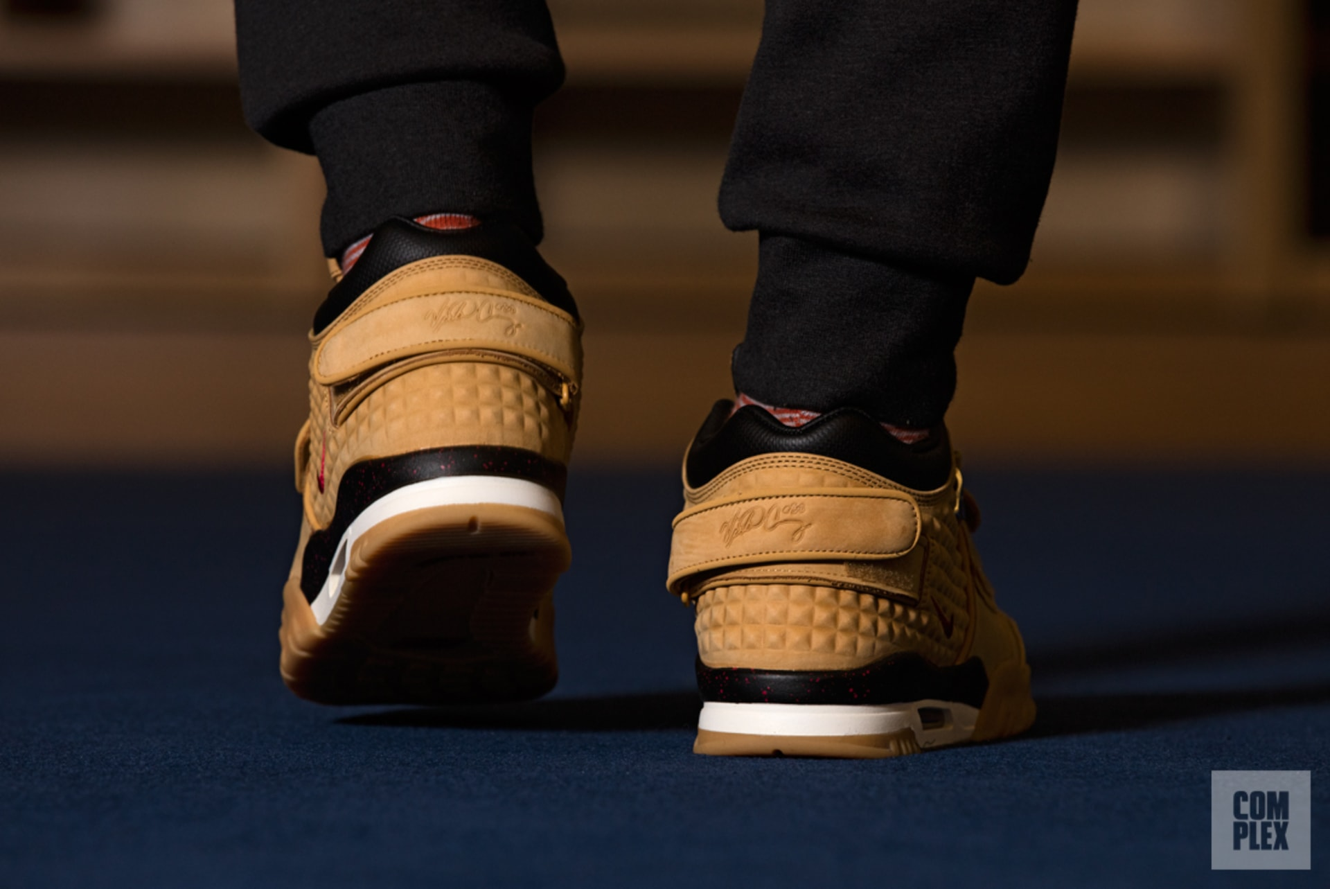 The Air Trainer Cruz is the first lifestyle sneaker to feature a heel strap. d95ef9db1