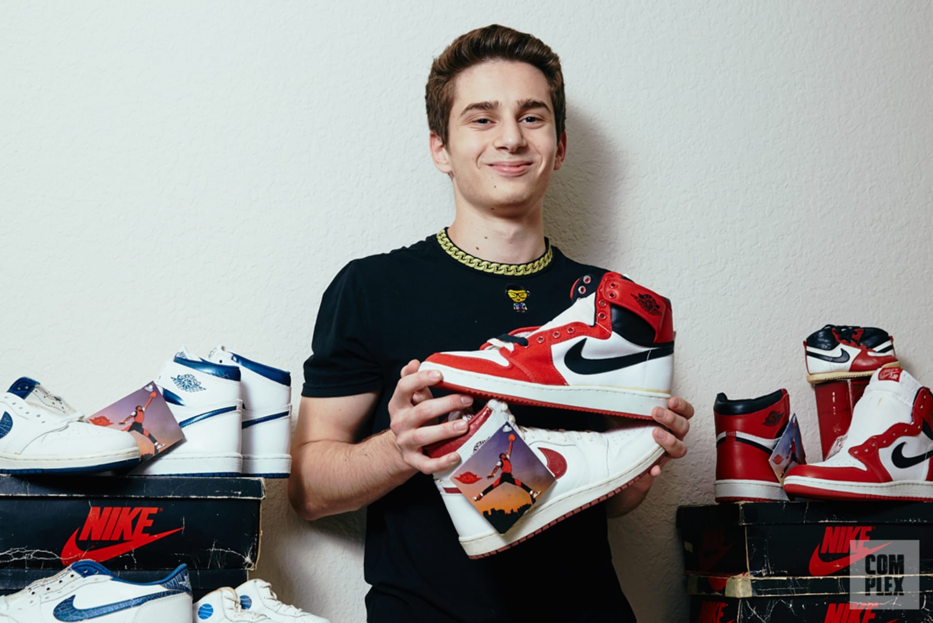 564ee12d2b0 Meet the 17-Year-Old With the Best O.G. Air Jordan 1 Collection ...