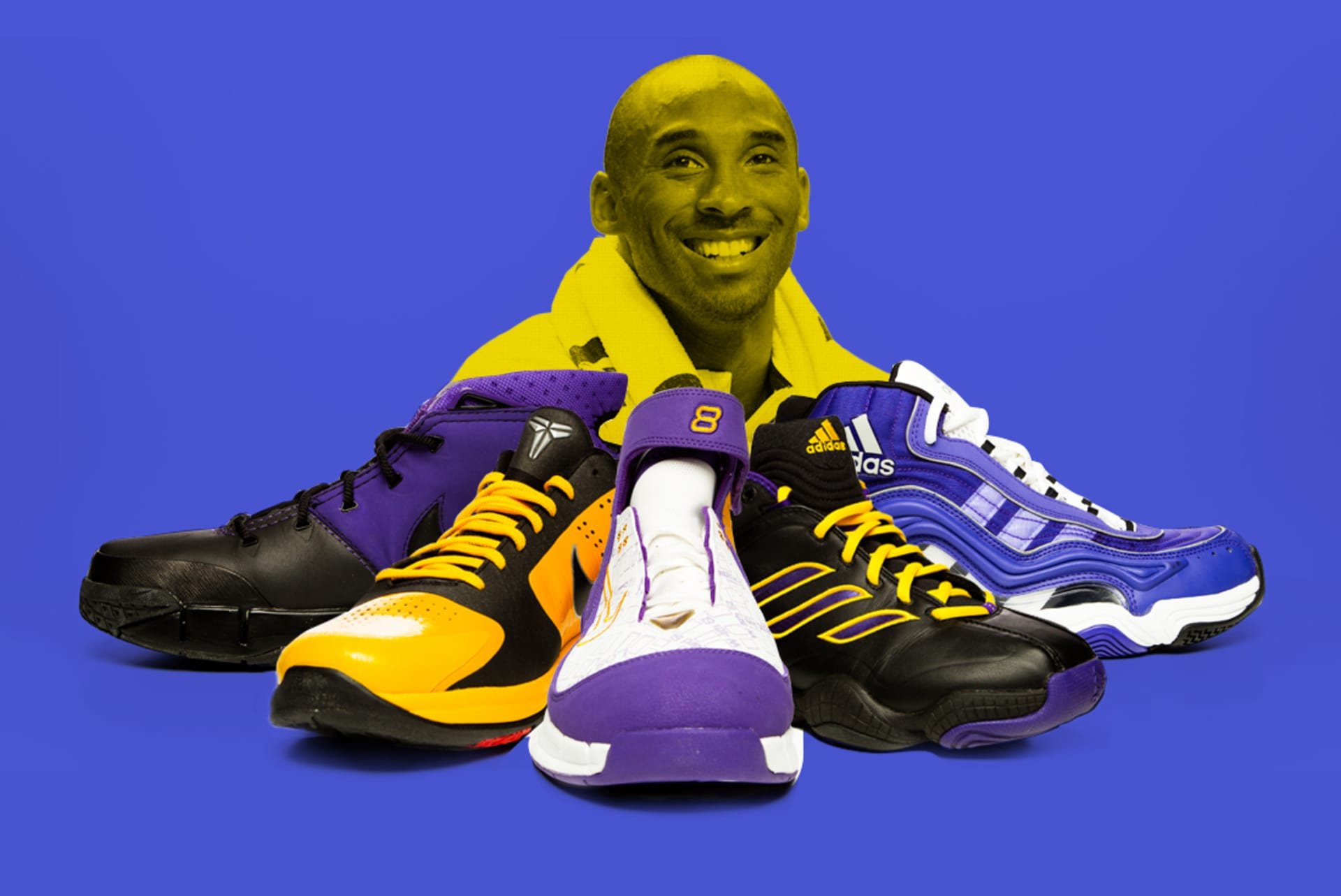 The Evolution of Kobe Bryant s Signature Sneakers f9324ed54