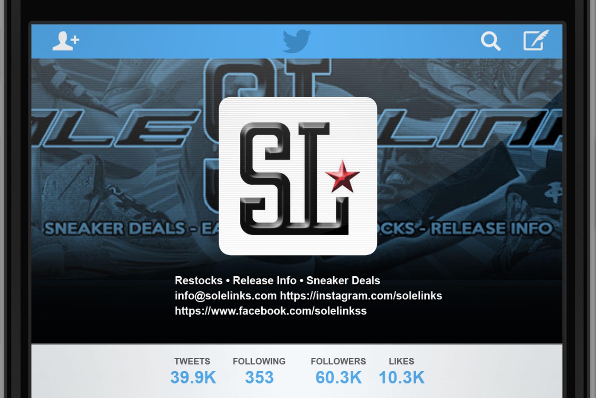 3b63d3c0b4c24 The 15 People You Must Follow on Sneaker Twitter