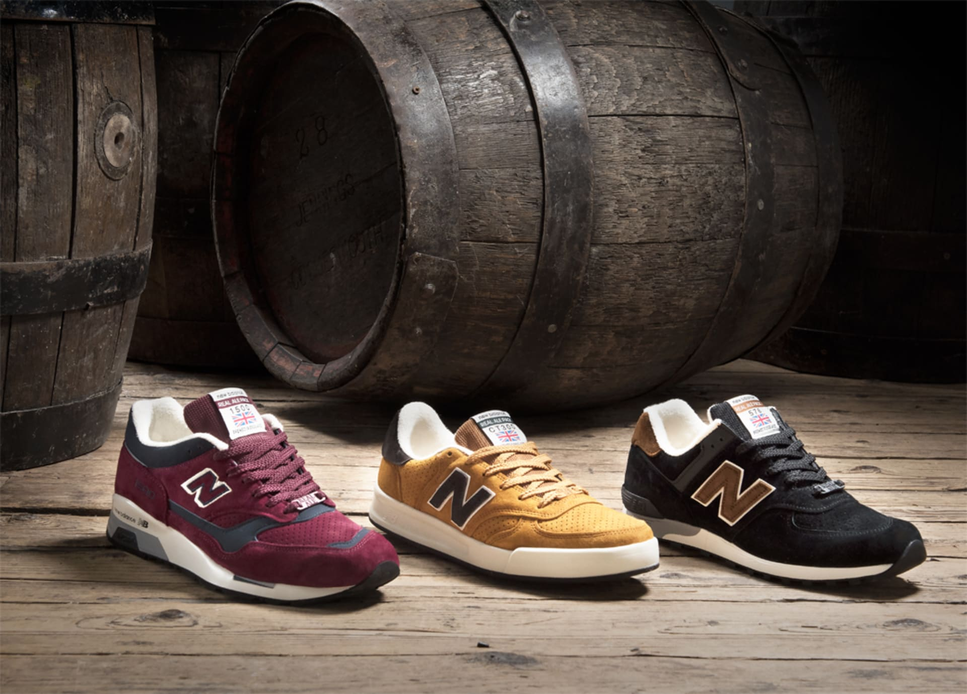 """a71c0856c72b New Balance """"Real Ale"""" Pack Turns Craft Beer Into Lust-Worthy ..."""