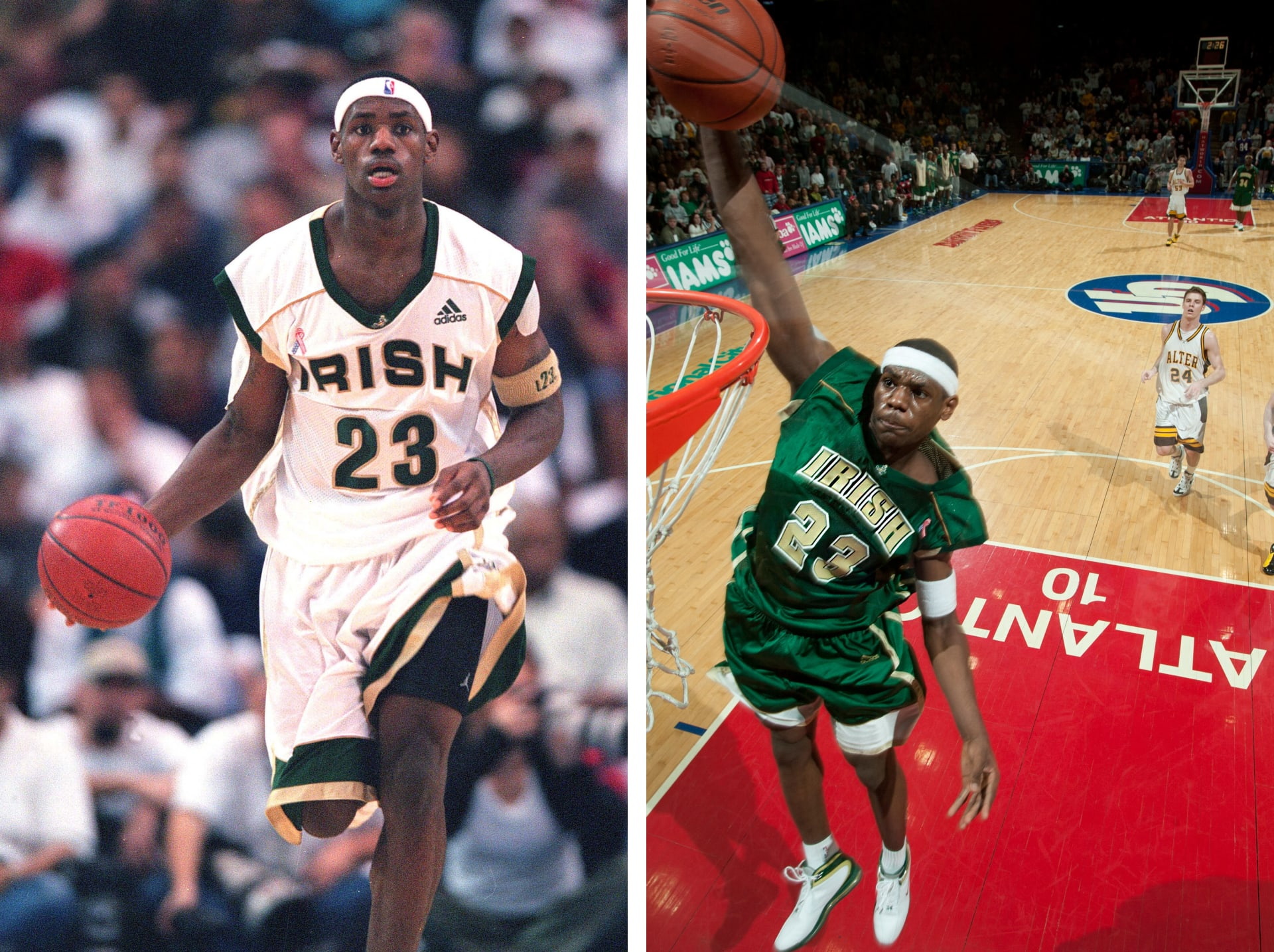 69d20d46cbc Brian Windhorst has been covering LeBron James since the superstar s high  school days   Left Image via USA Today Sports   Kirby Lee   Right Image via  USA ...