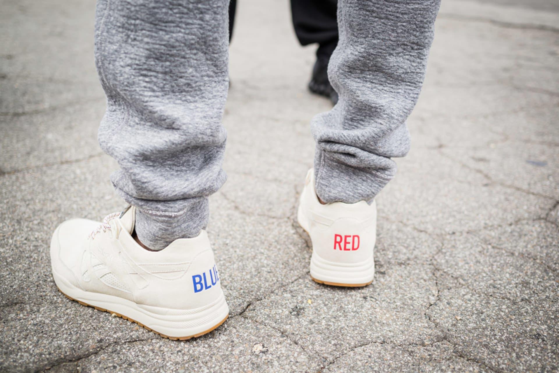 8abfdac88c01 The first Kendrick Lamar x Reebok collaboration on the Ventilator sneaker.