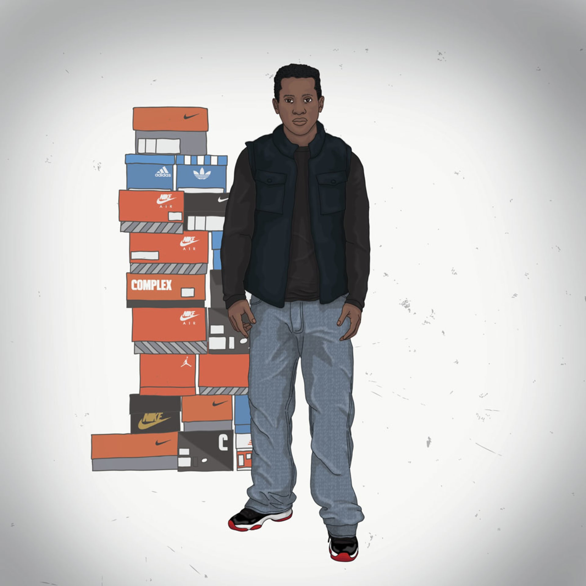 65f659ecb631 An Illustrated Guide to Sneakerheads
