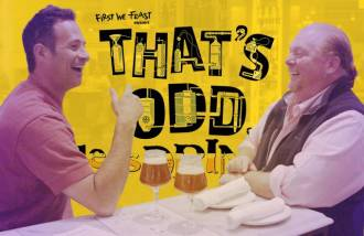 Watch Mario Batali Make Prison Beer on First We Feast's New Web Series, 'That's Odd, Lets Drink It'