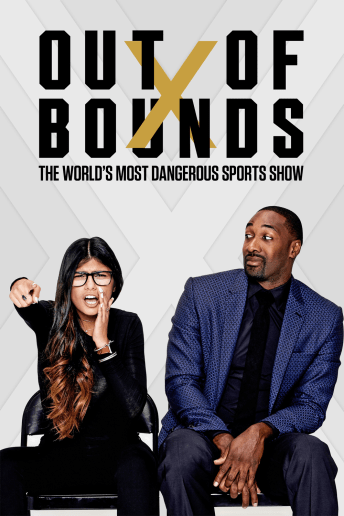 """Out of Bounds"" brings the comments section to life. Nothing is off limits on The World's Most Dangerous Sports Show, hosted daily by former NBA star Gilbert Arenas and popular internet personality and superfan Mia Khalifa."