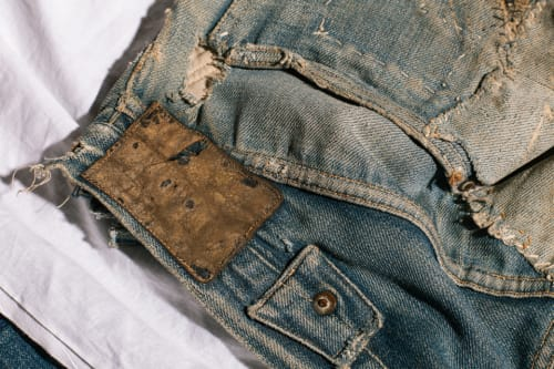 Homer Campbell Levis Jeans at the Levis Archive