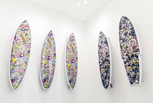 Murakami x Vans surfboards