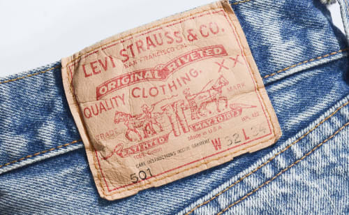 Levi's back patch
