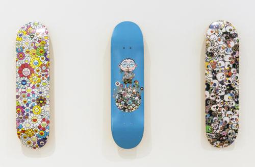 Murakami x Vans skateboards