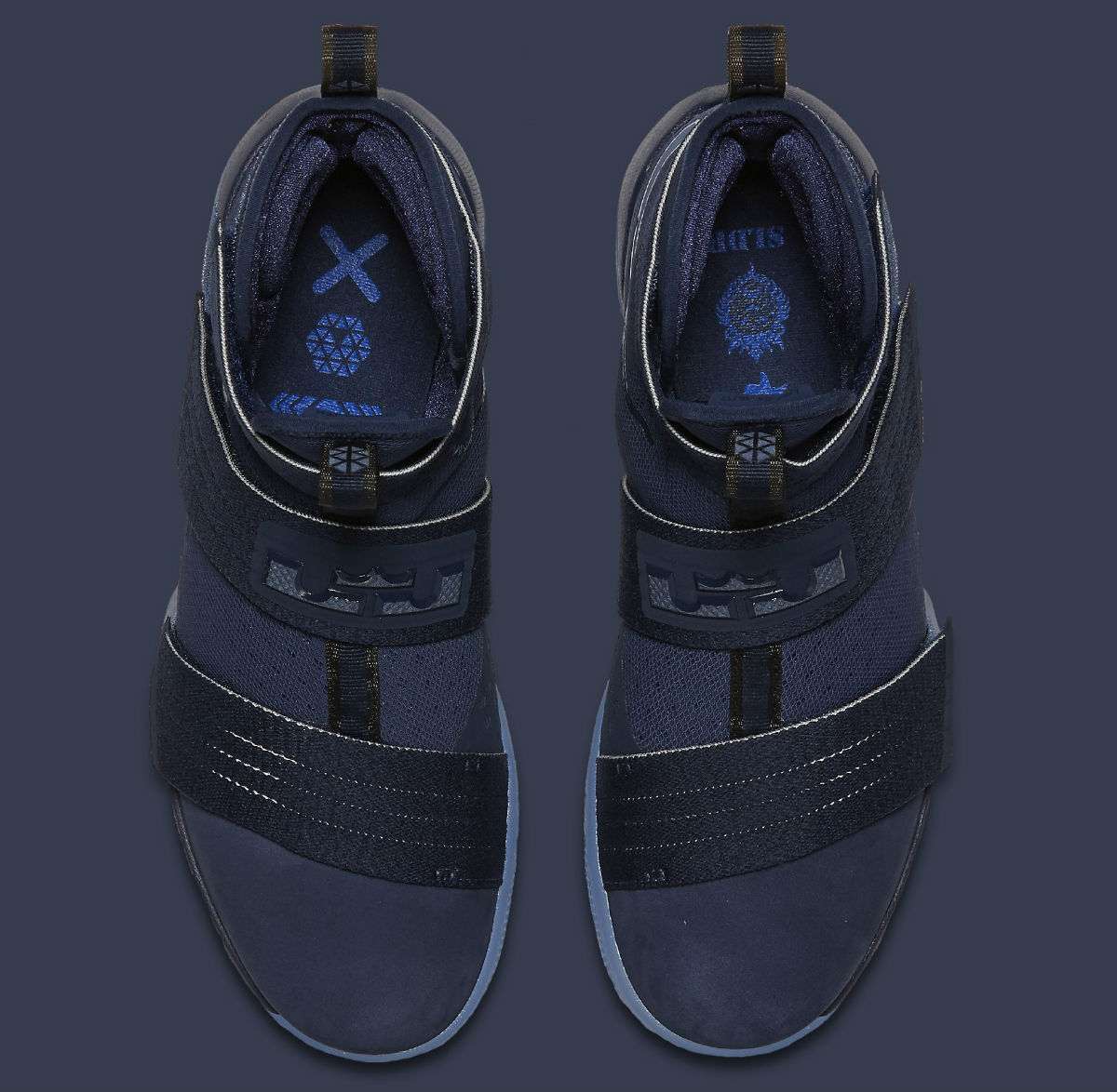 superior quality f83f0 cb231 Nike LeBron Soldier 10 Midnight Navy Release Date 844378-444 ...