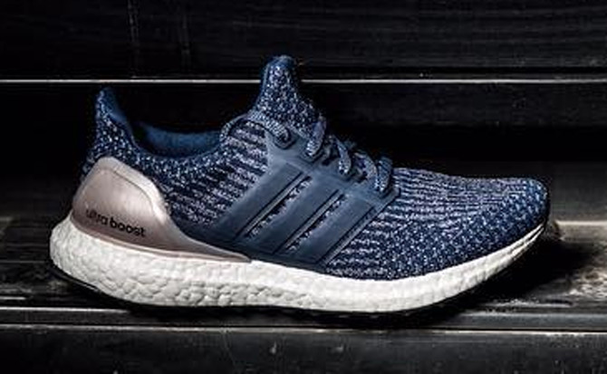 Adidas Ultra Boost 3 Navy Silver