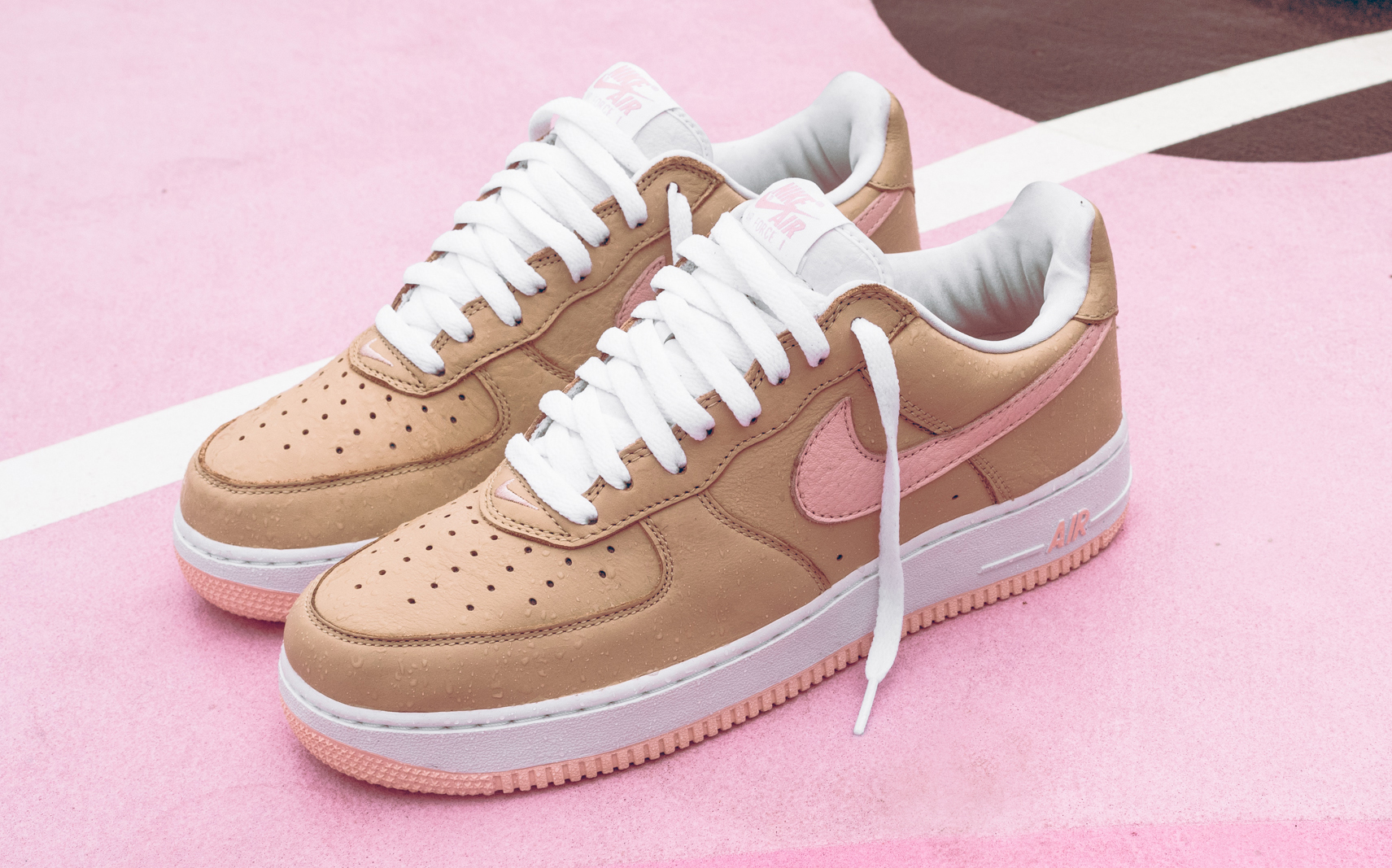 8b159084e64 Linen Nike Air Force 1 Retro Kith Miami | Sole Collector