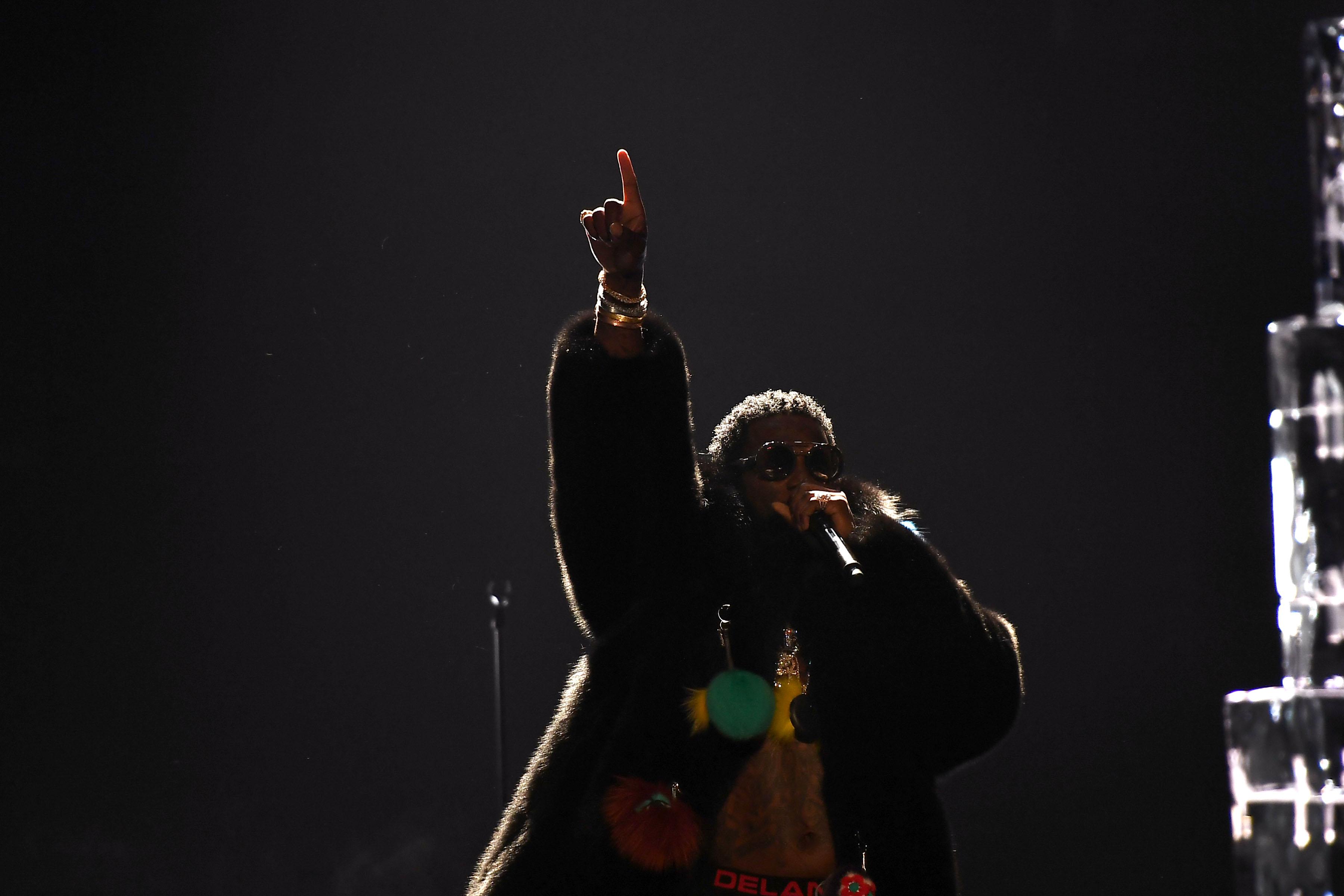Gucci Mane at the 2016 BET Hip-Hop Awards