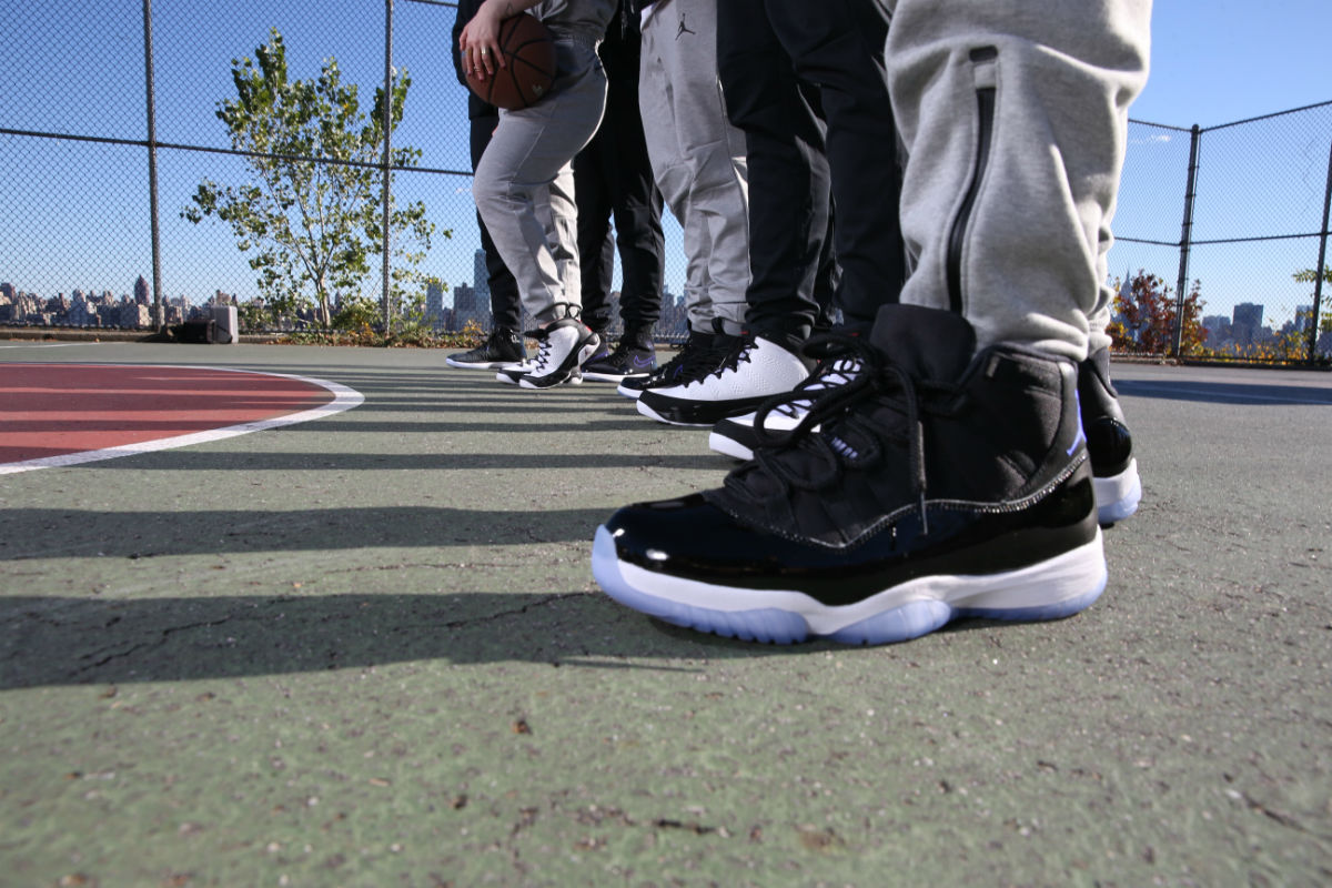 new concept 4fe9e 2143e Jordan 11 Space Jam 2016 On Feet