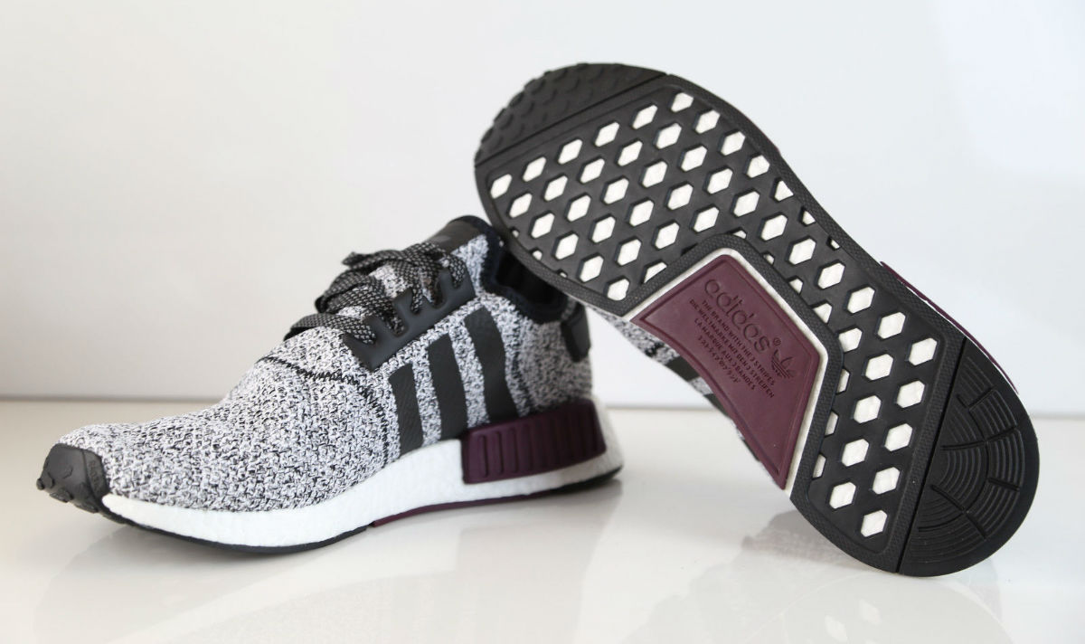 the best attitude 4a954 24813 Champs adidas NMD White Black Burgundy B39506 | Sole Collector
