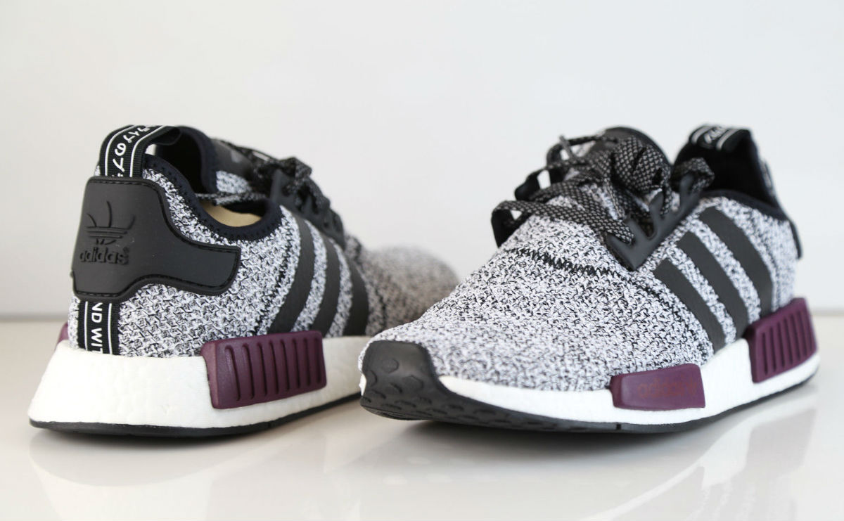 the best attitude 6404a 25eaa Champs adidas NMD White Black Burgundy B39506 | Sole Collector