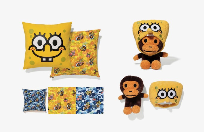 Spongebob Squarepants Is A Bathing Ape S Newest