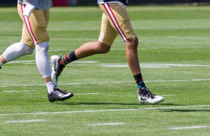 Colin Kaepernick's socks 6