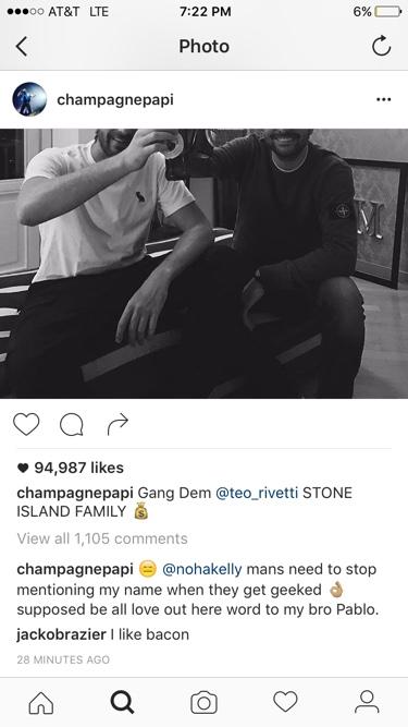 Drake Instagram