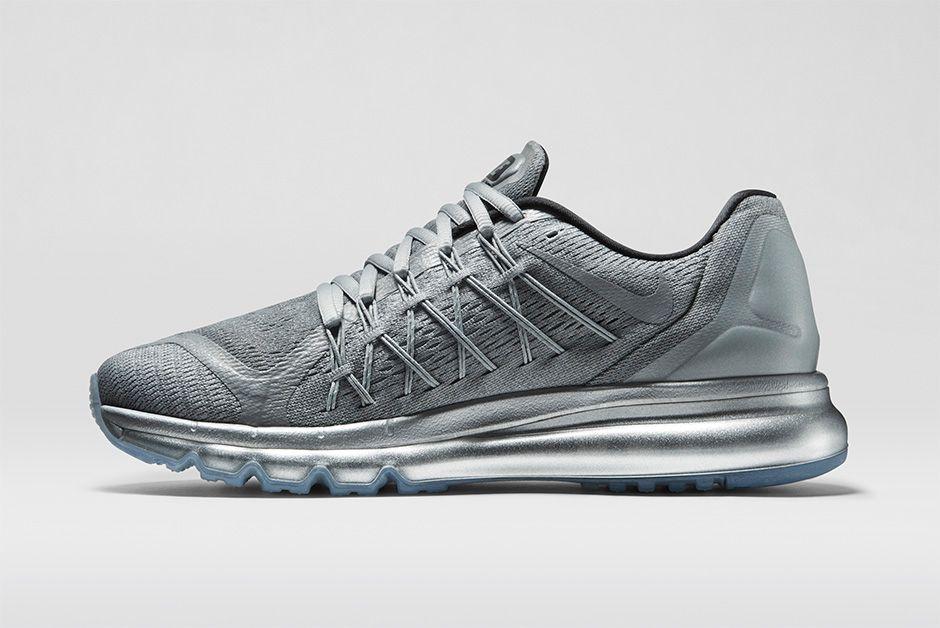 2015 Nike Air Max Silver