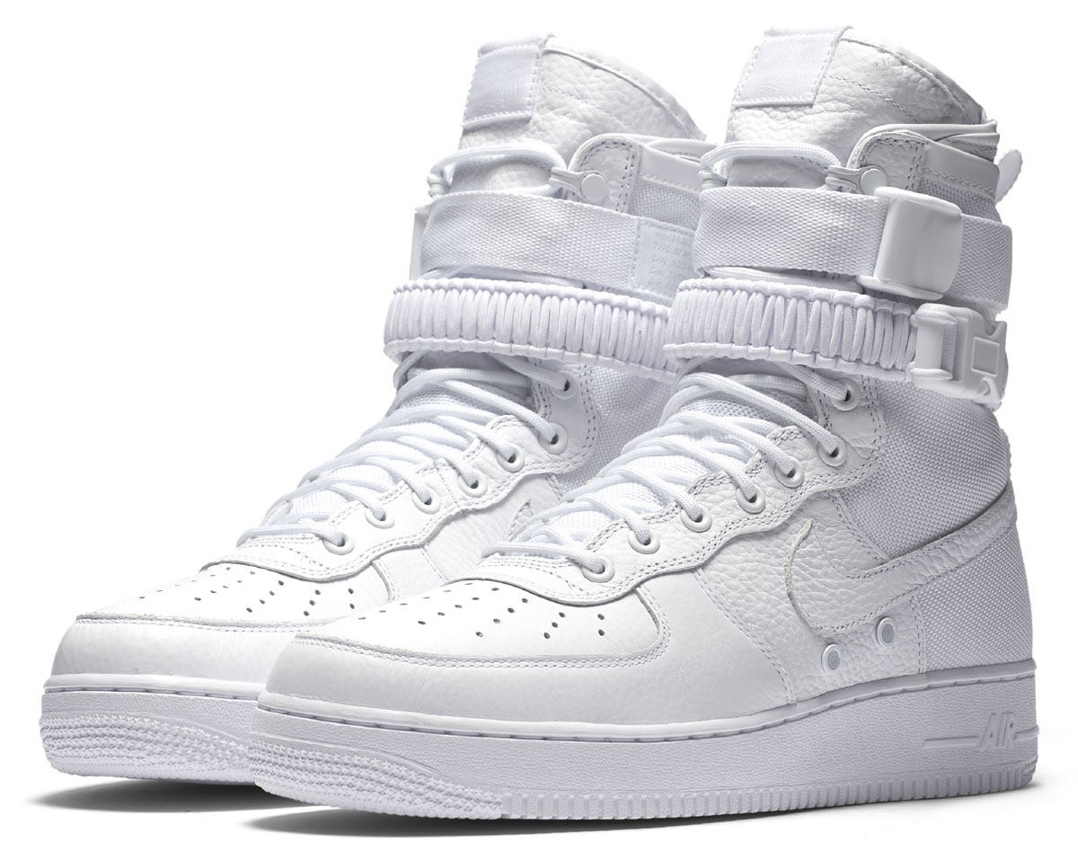 Nike AF Air Force 1 High White Release Date Main 903270-100