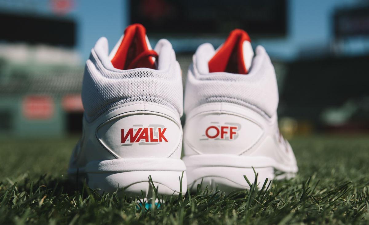 David Ortiz New Balance Walk Off Cleats Heel