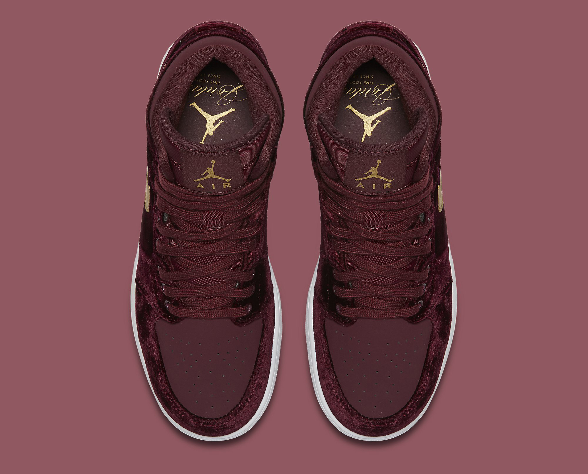 separation shoes 07bce 563ad Red Velvet Air Jordan 1 Heiress | Sole Collector
