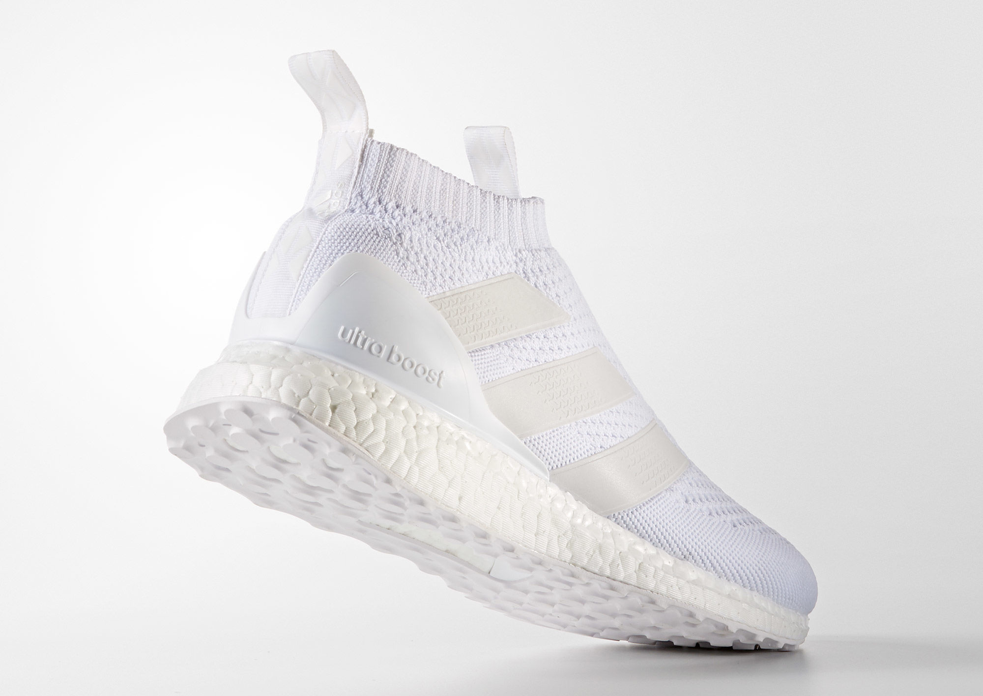 adidas pure control ultra boost triple white sole collector. Black Bedroom Furniture Sets. Home Design Ideas