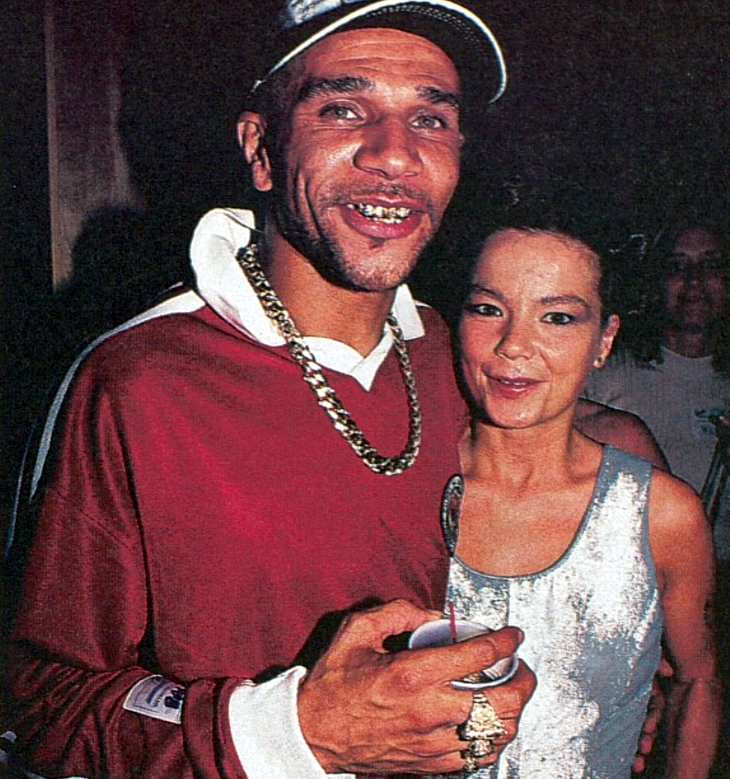 goldie bjork2 10 Things You Didnt Know About Goldie