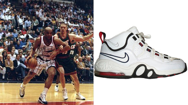 Charles Barkley in the Nike Air Max Super CB