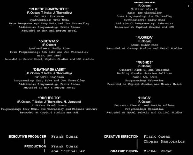 Endless credits page 2