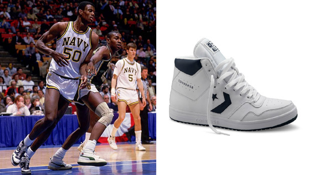 David Robinson in the Converse Star Tech