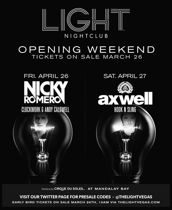 LIGHT openingWeekend seven2 LIGHT Nightclub Announces Nicky Romero, Axwell for Opening Weekend