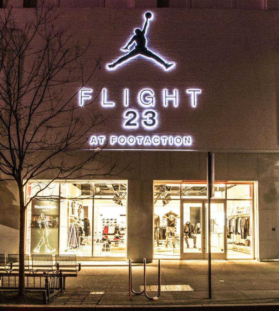 Footaction Flight 23 Brooklyn Store