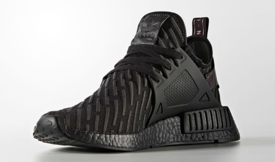 Triple Black Adidas NMD XR2   Sole