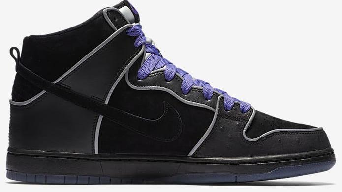 Nike Sb Black And Purple Box