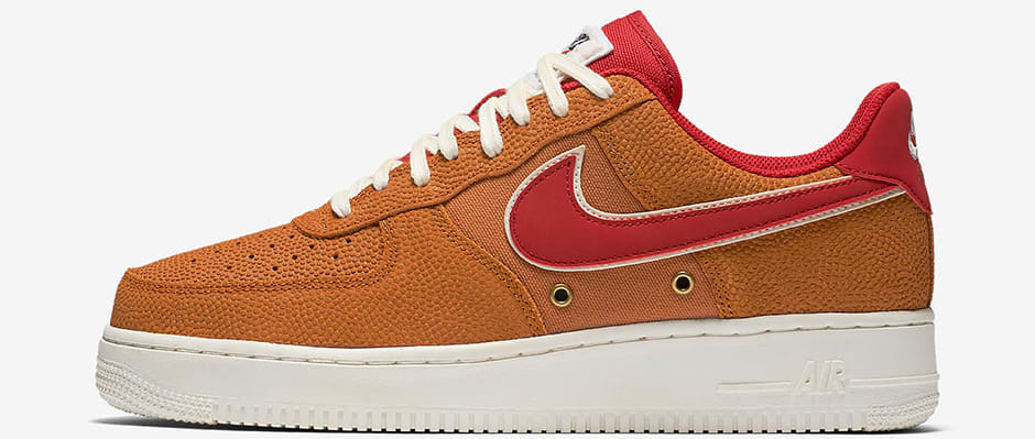 basket nike air force 1 orange